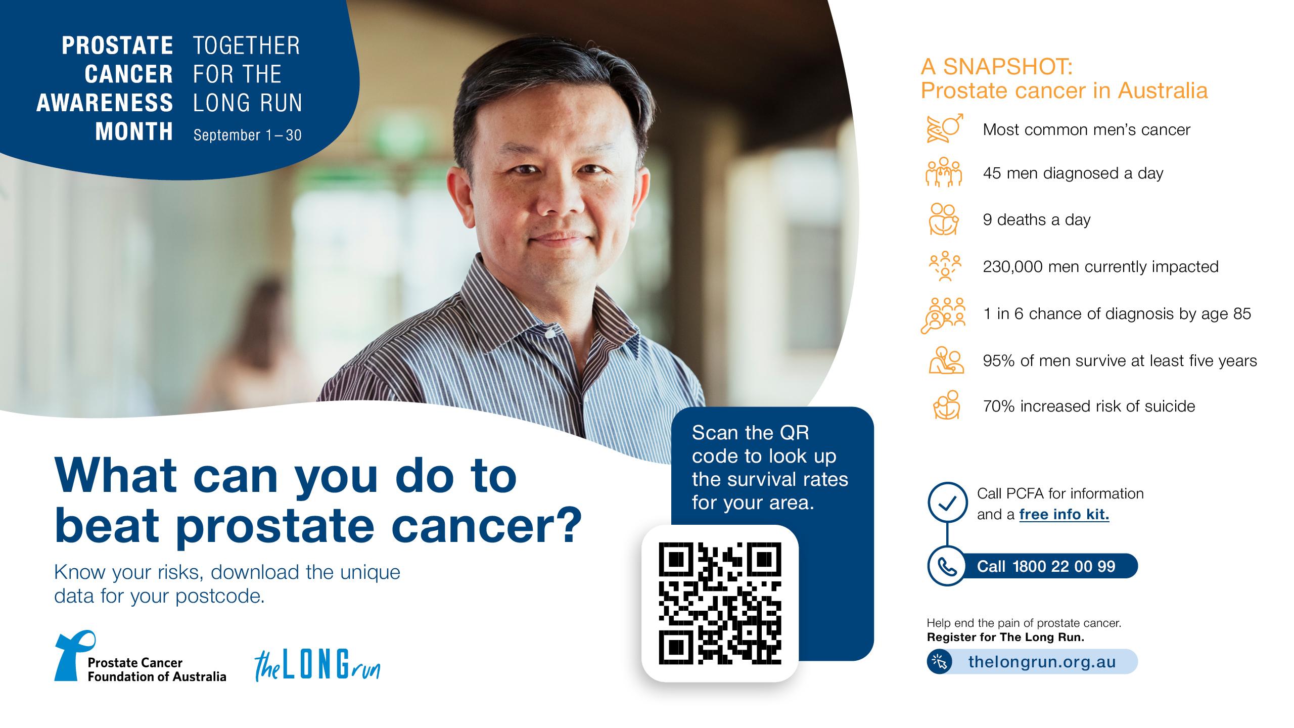PCAM TV Screen - Prostate Cancer In Australia