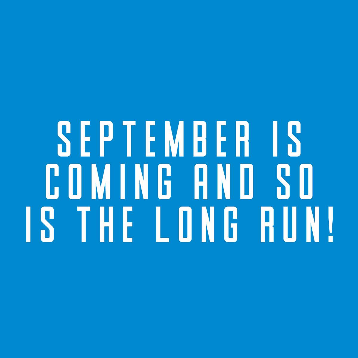 September is coming! (Instagram)