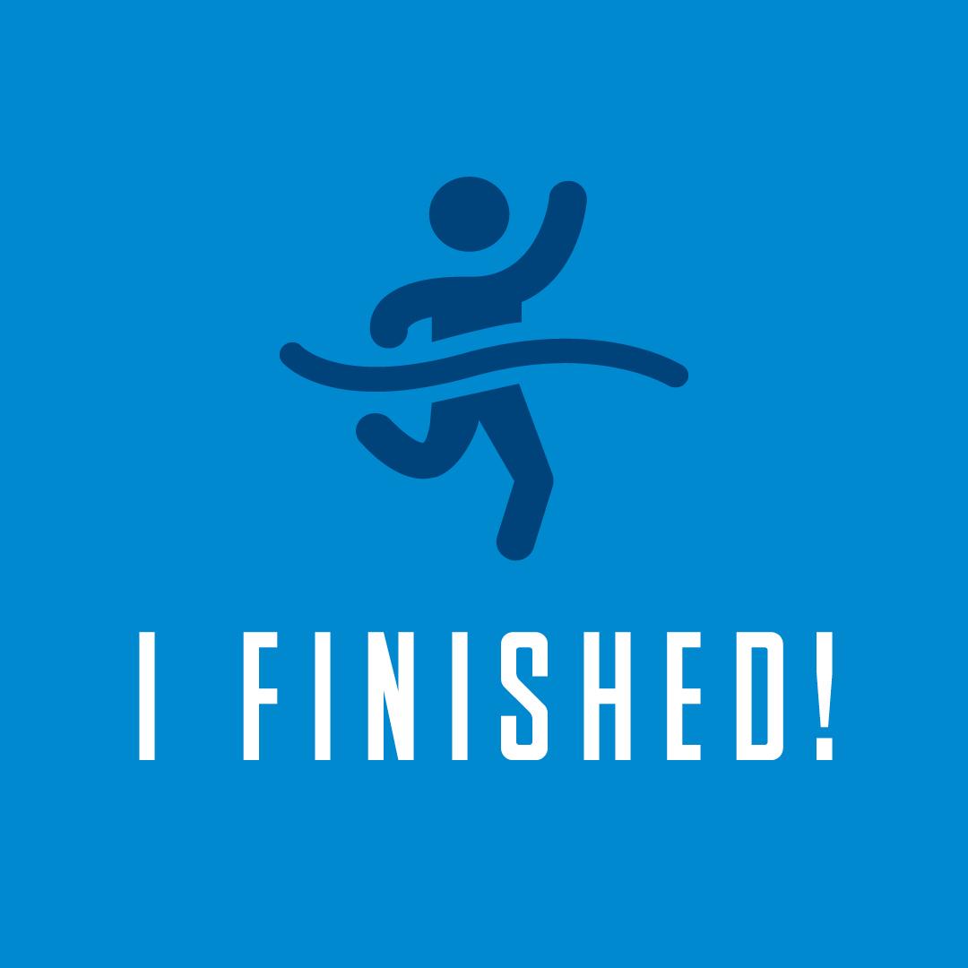 Social Post - I finished!