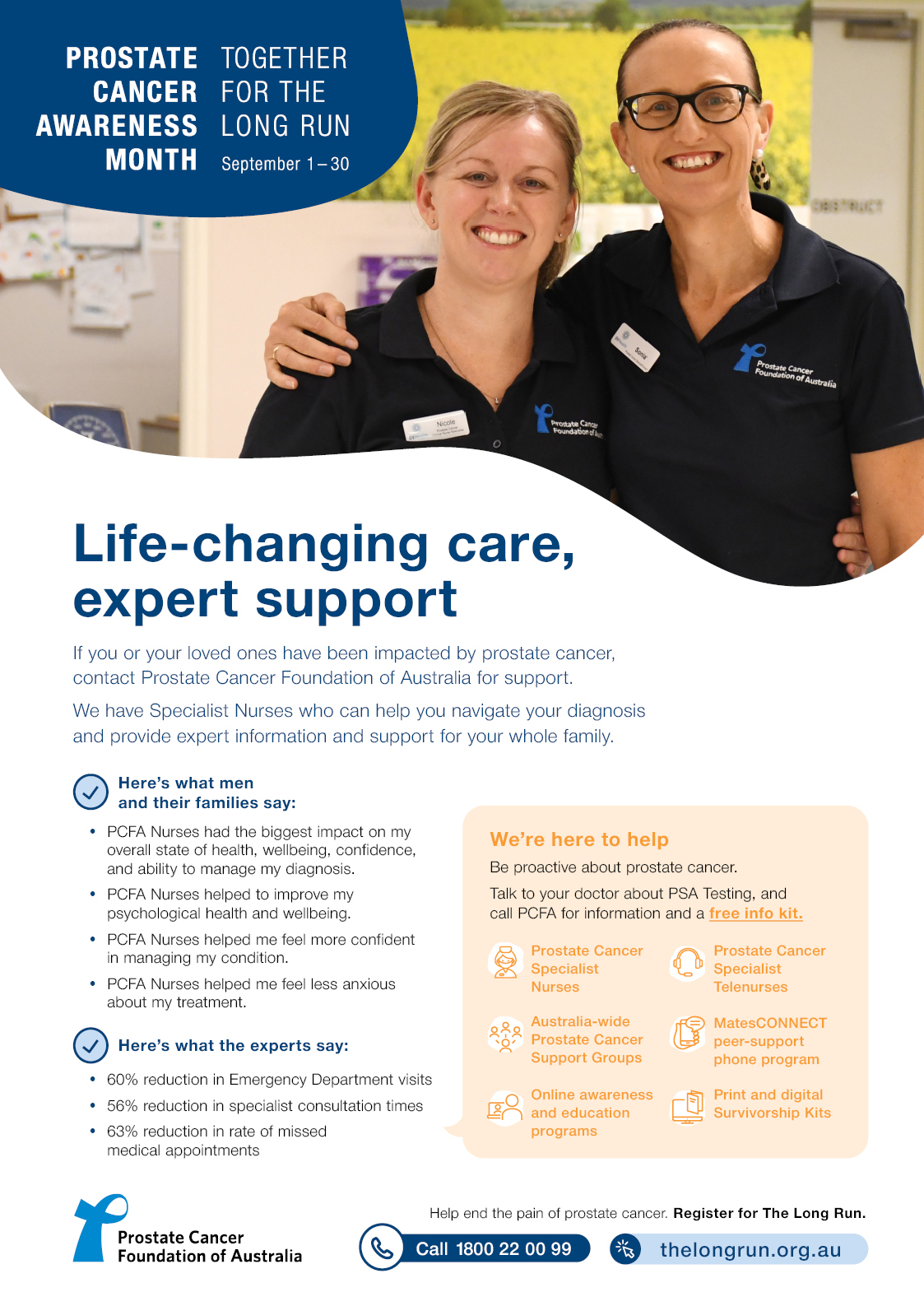 PCAM PCFA Support Poster