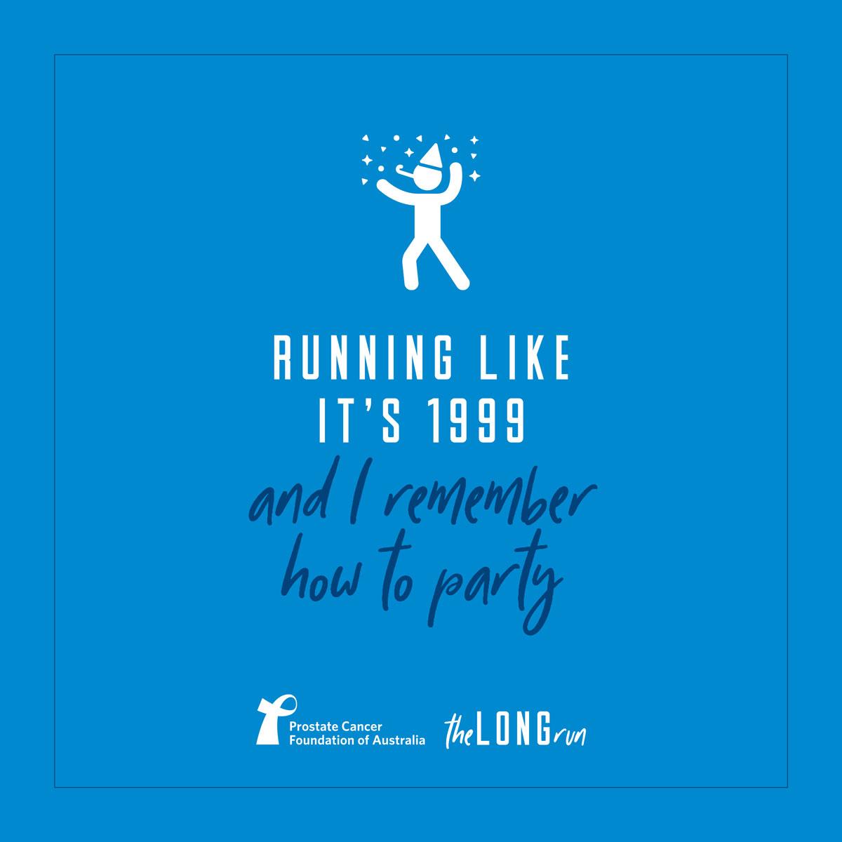 Running like it's 1999