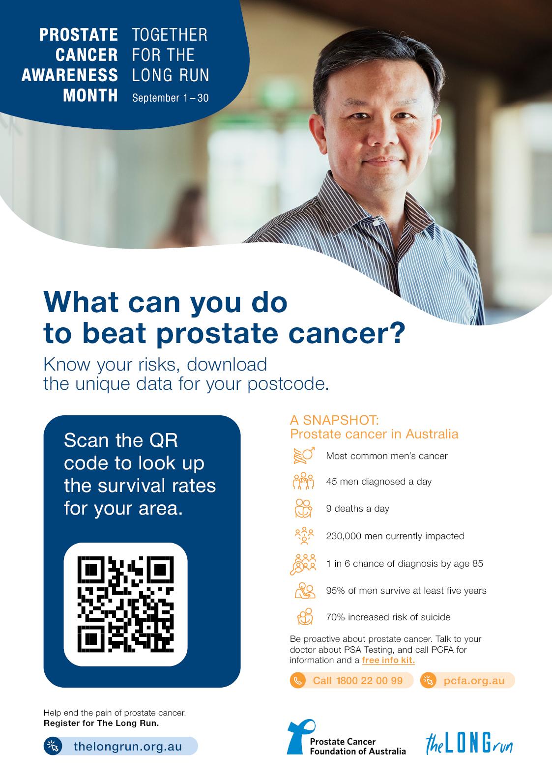PCAM Prostate Cancer In Australia Poster